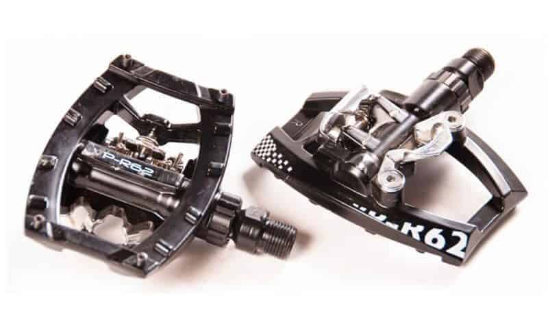 A pair of Clipless/Platform Bike Pedals