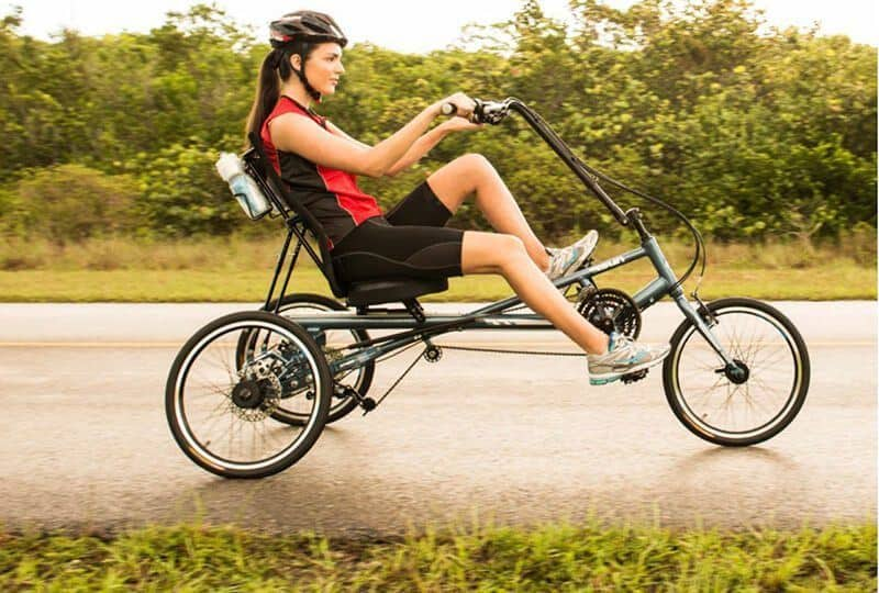 A recumbent bike can help you to lose belly fat