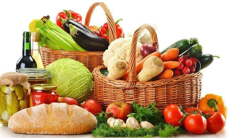 Healthy diet and cycling for weight loss