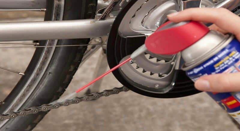 How to lube bike chain