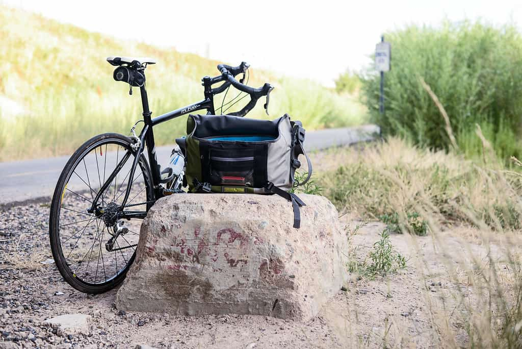 bike and messanger bag